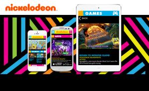 Nickelodeon Mobile Games and Apps Hub